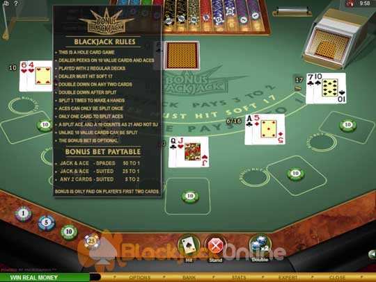 Blackjack Uk Rules