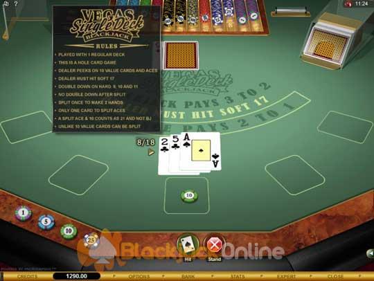 Blackjack Rules Uk